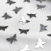 Elegant Butterfly Table Confetti - Silver (14g)